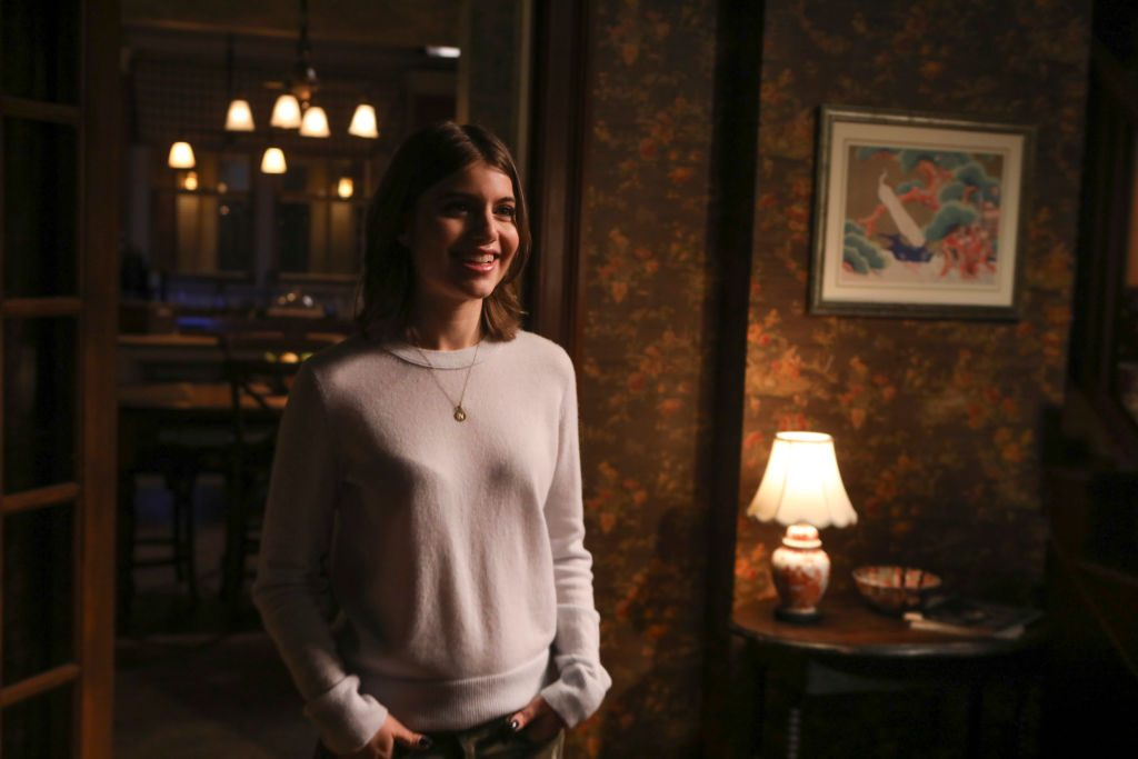 Sami Gayle's character acting in 'Blue Bloods'