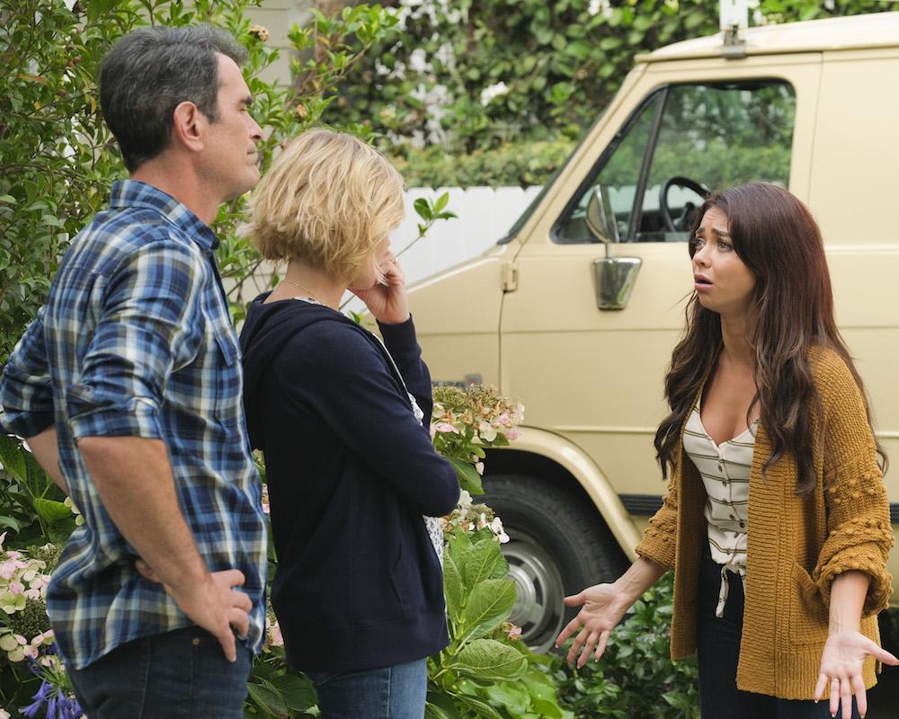 Modern Family: Sarah Hyland, Julie Bowen, Ty Burrell