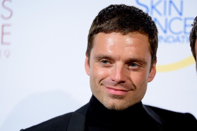 Sebastian Stan on the red carpet