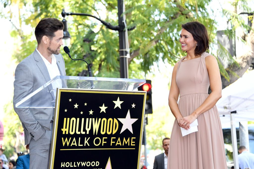 Shane West and Mandy Moore