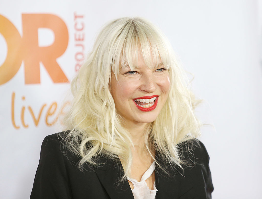 Sia performs onstage