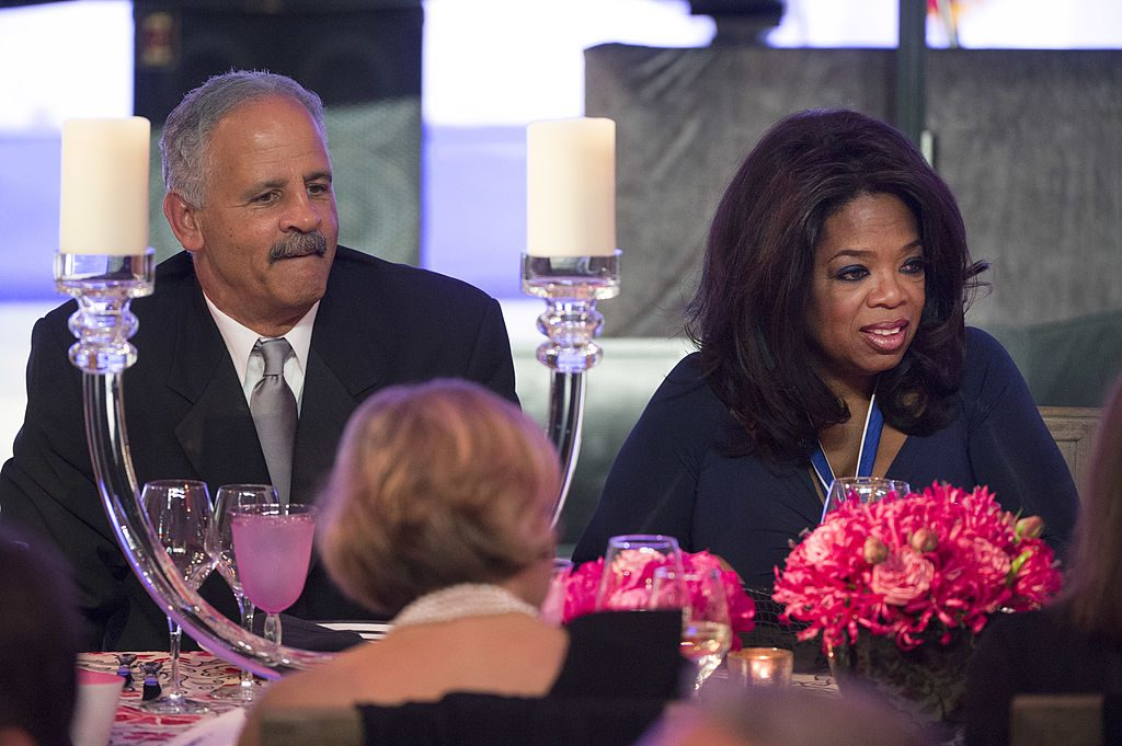 Stedman Graham and Oprah Winfrey |  Kevin Dietsch-Pool/Getty Images