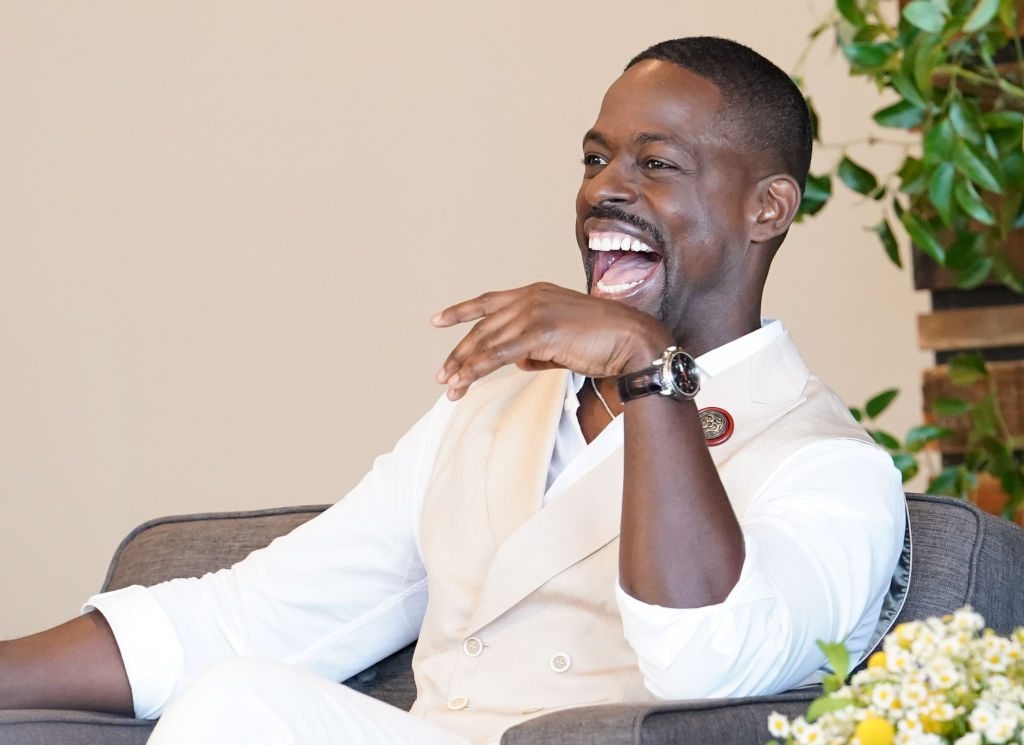 Sterling K. Brown at the Pancakes with the Pearsons panel