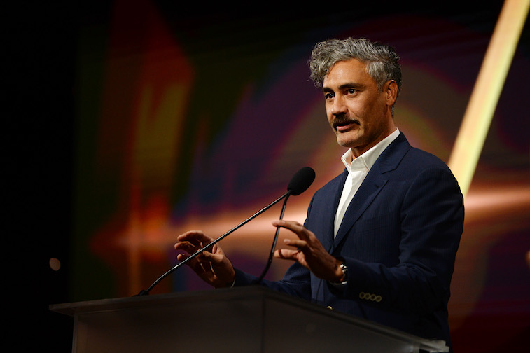Taika Waititi speaks onstage