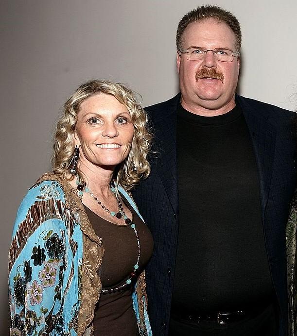 Tammy Reid and Andy Reid