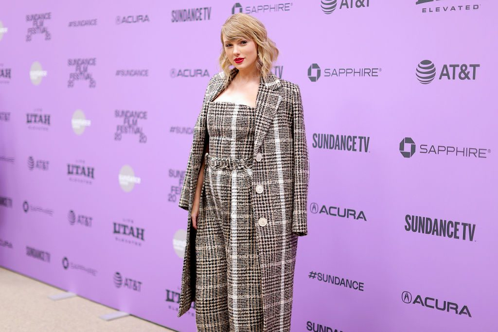 Taylor Swift promotes new documentary