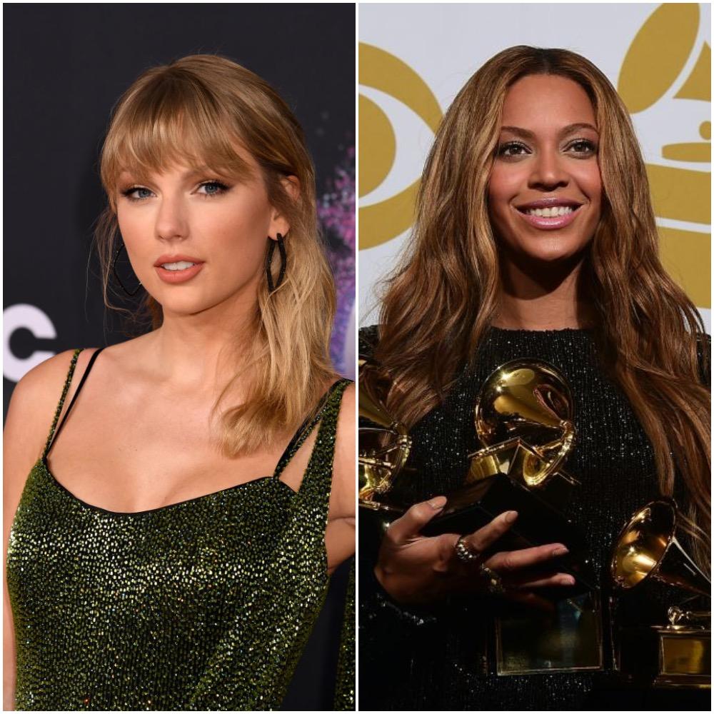 Taylor Swift and Beyoncé