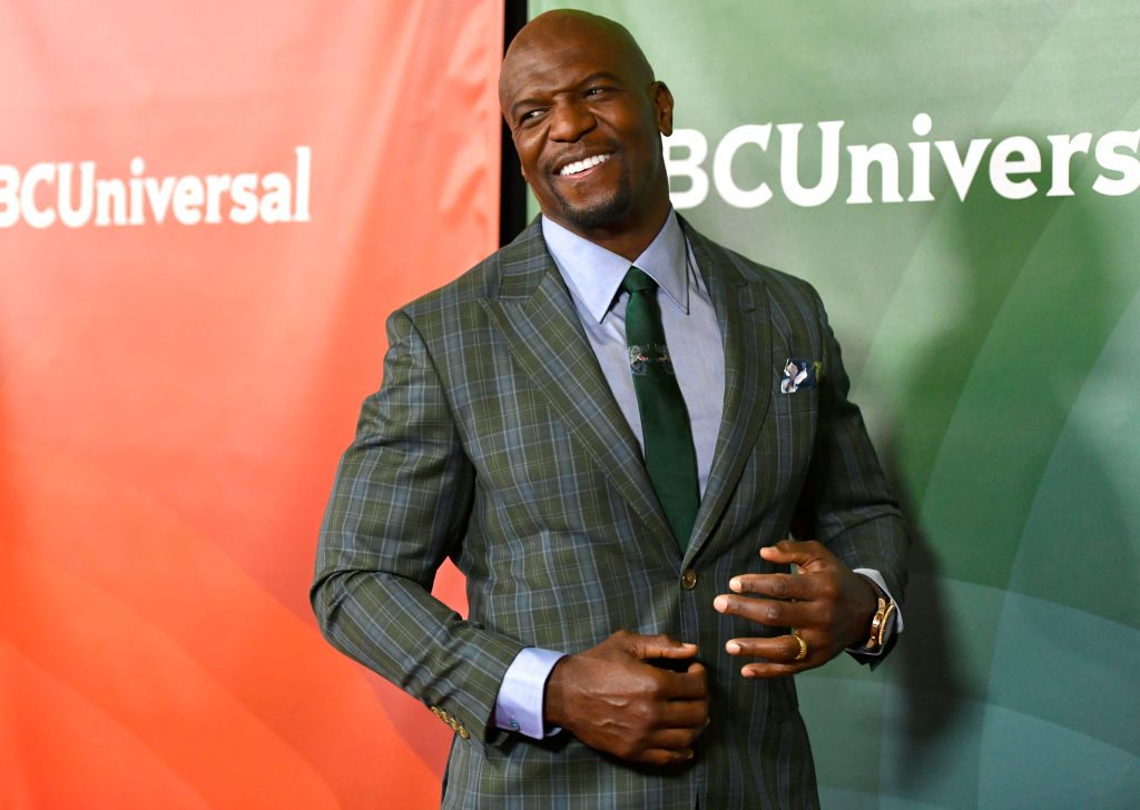 Terry Crews attends the 2020 NBCUniversal Winter Press Tour 45