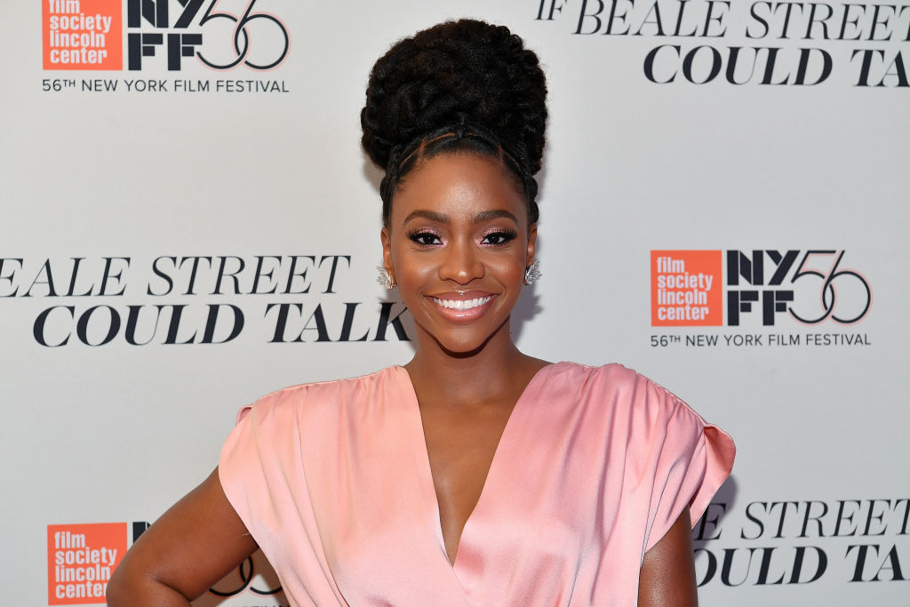 Teyonah Parris at the 'If Beale Street Could Talk' U.S. premiere at the 56th New York Film Festival.