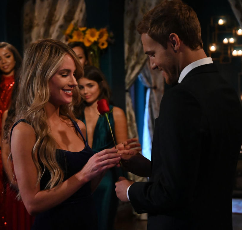 The Bachelor's Victoria P. and Peter Weber