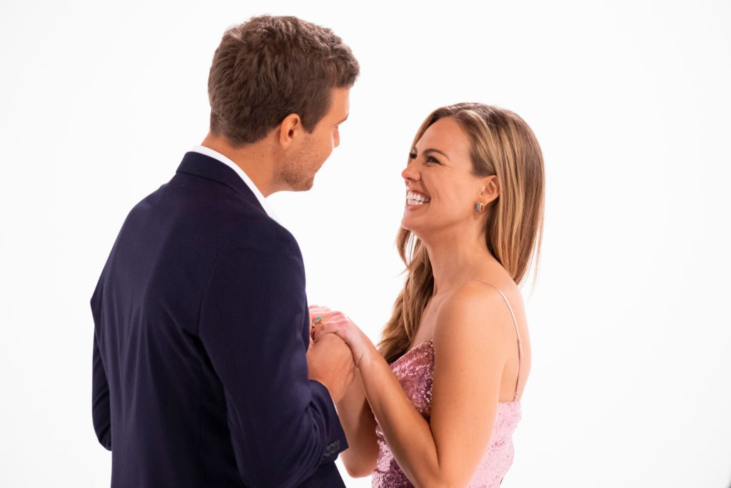 Peter Weber and Hannah Brown on 'The Bachelorette'