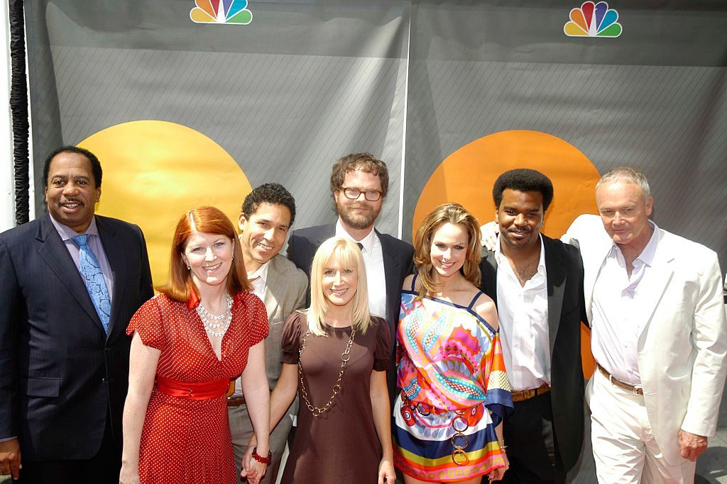 The cast of 'The Office' at the Radio City Music Hall