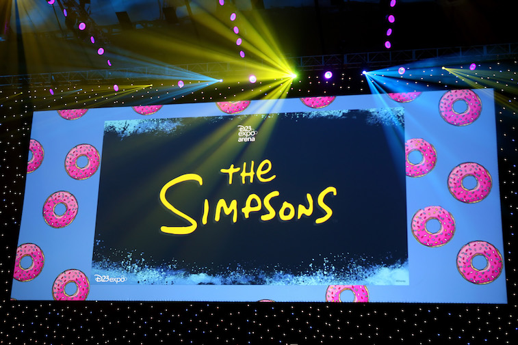 The Simpsons! panel during the 2019 D23 Expo