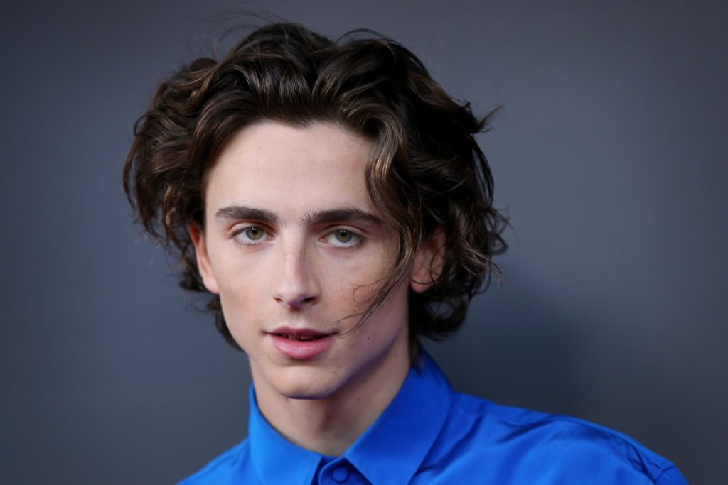 Timothee Chalamet attends the Australian premiere of 'THE KING'
