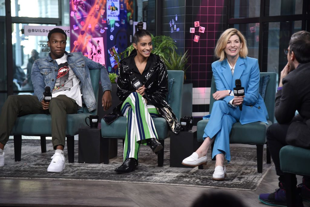 Tosin Cole, Mandip Gill, and Jodie Whittaker of 'Doctor Who': 'Orphan 55'