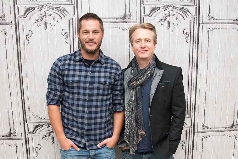Travis Fimmel and Linus Roache