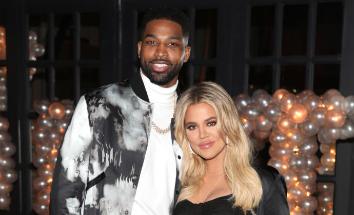 Tristan Thompson and Khloé Kardashian in 2018