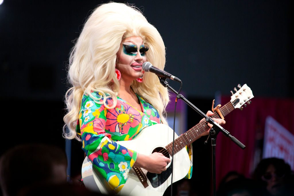 Trixie Mattel performs onstage during RuPaul's DragCon 2019