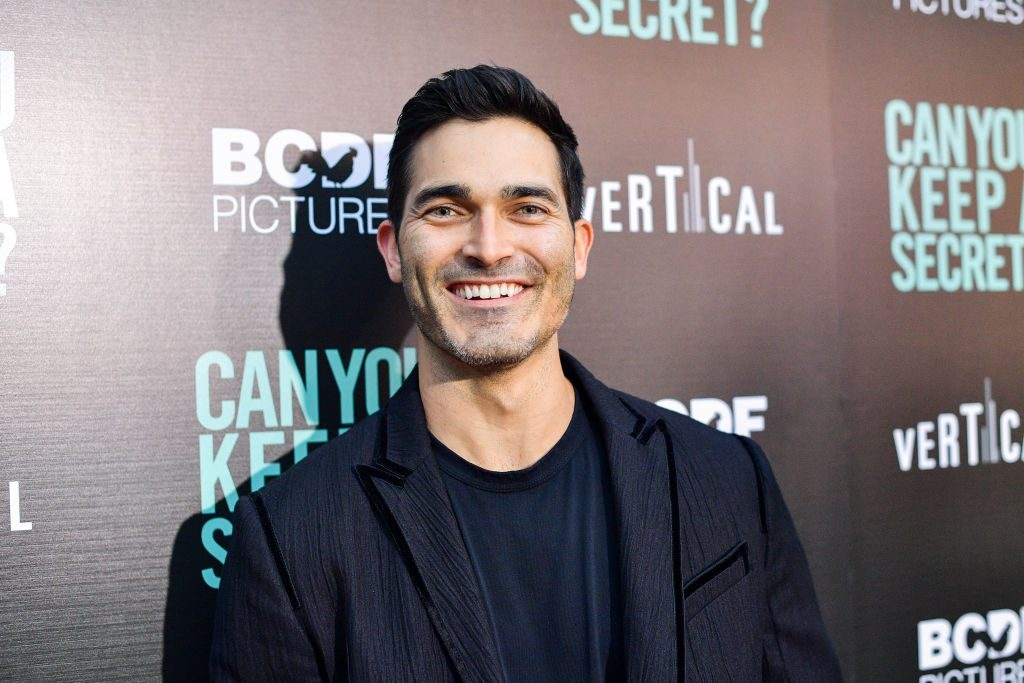 "Tyler Hoechlin (Superman) attends the premiere of Vertical Entertainment's ""Can You Keep A Secret?"""