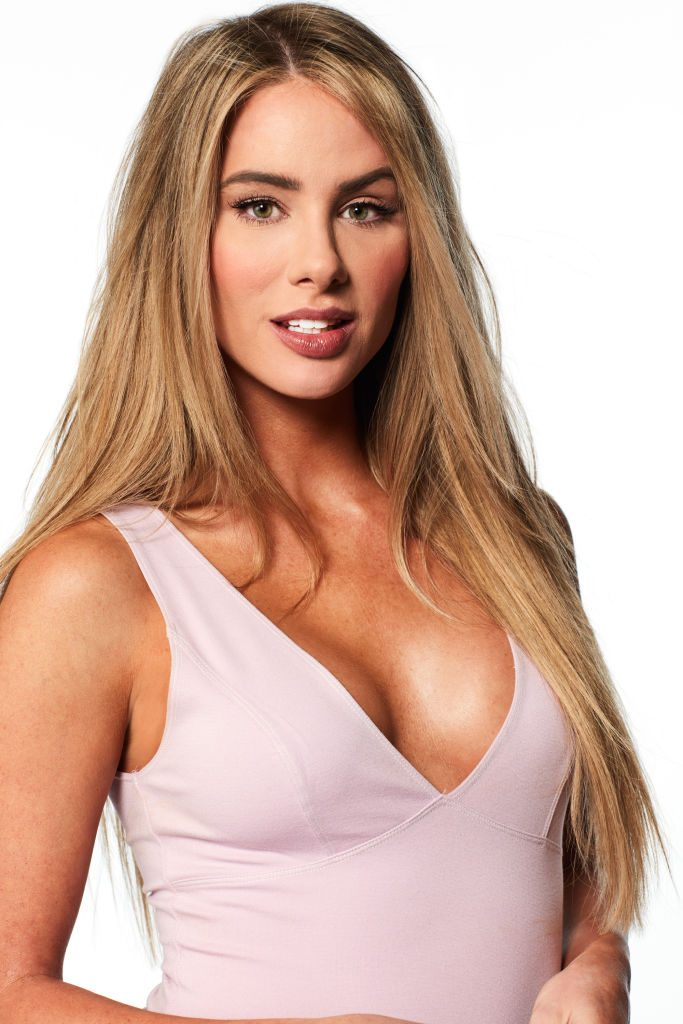 Victoria's headshot for The Bachelor