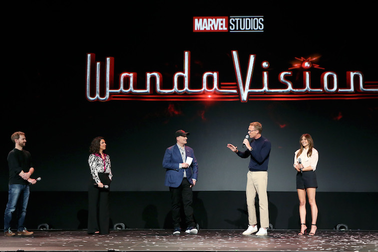 The cast of WandaVision