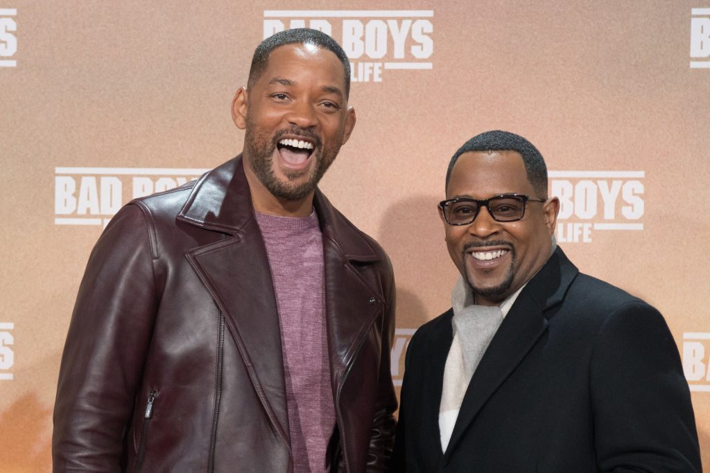 Will Smith and Martin Lawrence at a Bad Boys for Life movie event. |  Jörg Carstensen/picture alliance via Getty Images