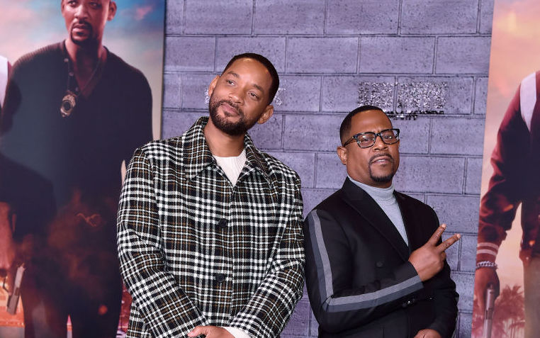 Will Smith and Martin Lawrence on the red carpet in 2020
