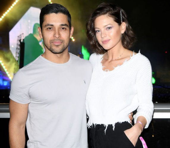 Wilmer Valderrama and Amanda Pacheco attend the MDL Beast Festival on December 21, 2019