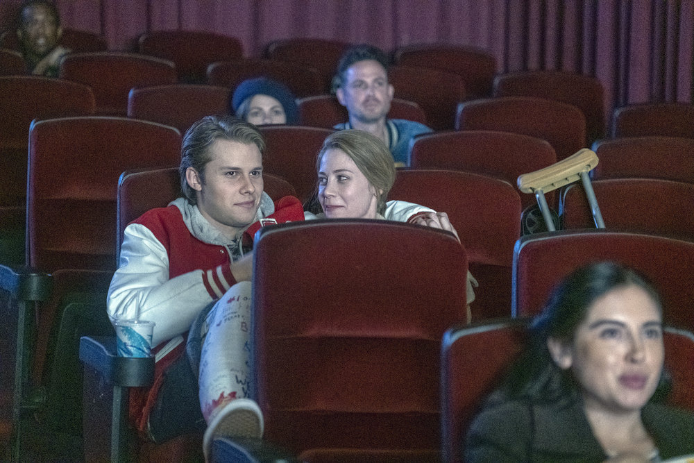 Logan Shroyer as Kevin, Amanda Leighton as Sophie in 'This Is Us' Season 4