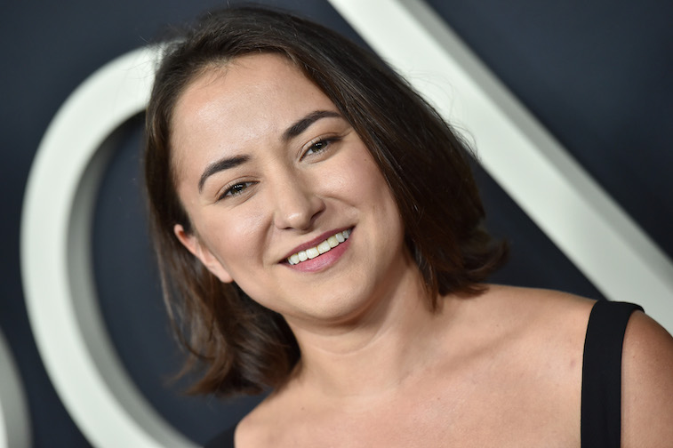 Zelda Williams on the red carpet