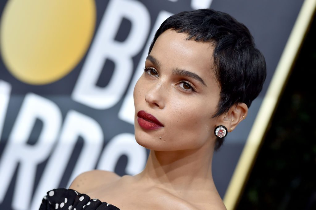 Zoë Kravitz at the 77th Annual Golden Globe Awards