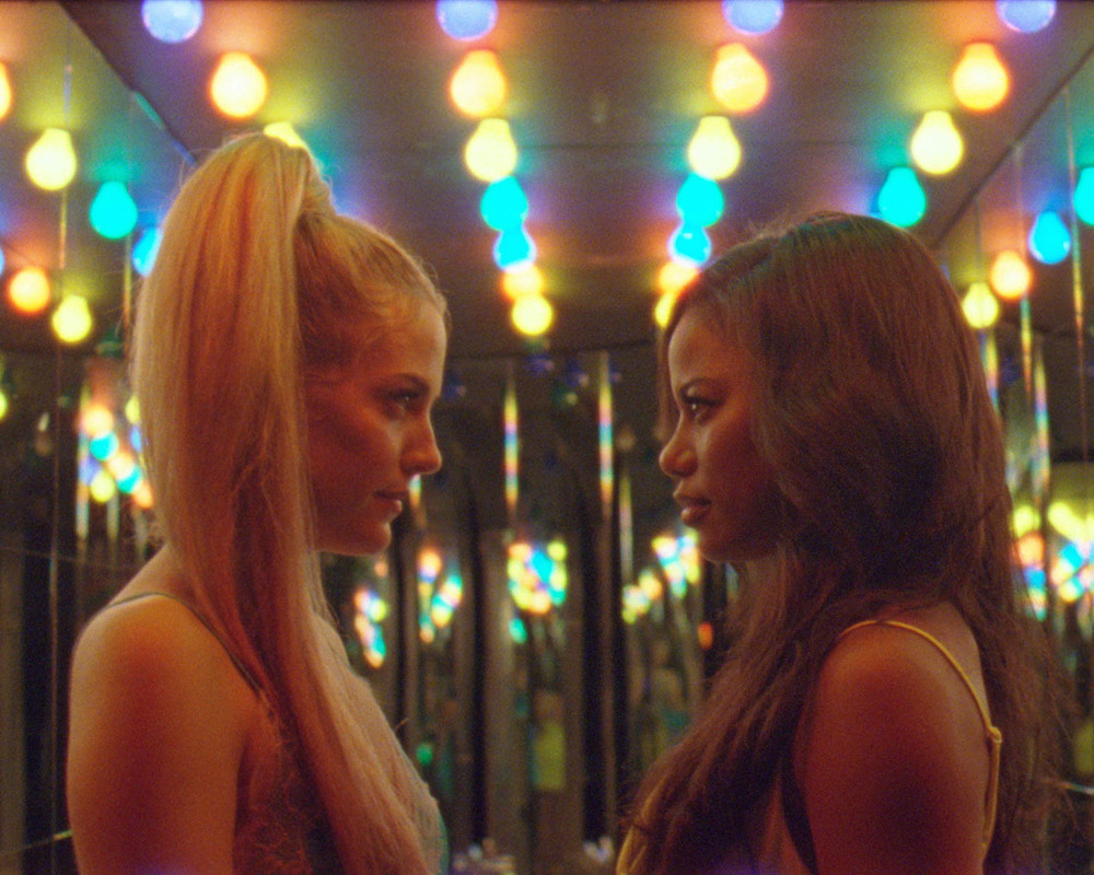 Twitter inspired film Zola: Riley Keough and Taylour Paige