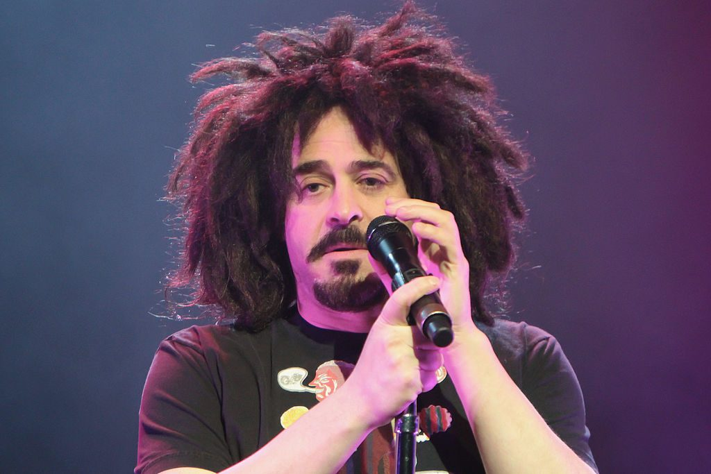 Adam Duritz, lead singer for the Counting Crows performs at The Borgata Event Center.