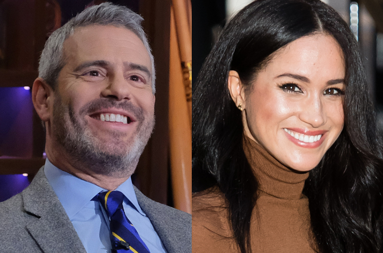 Andy Cohen and Meghan Markle