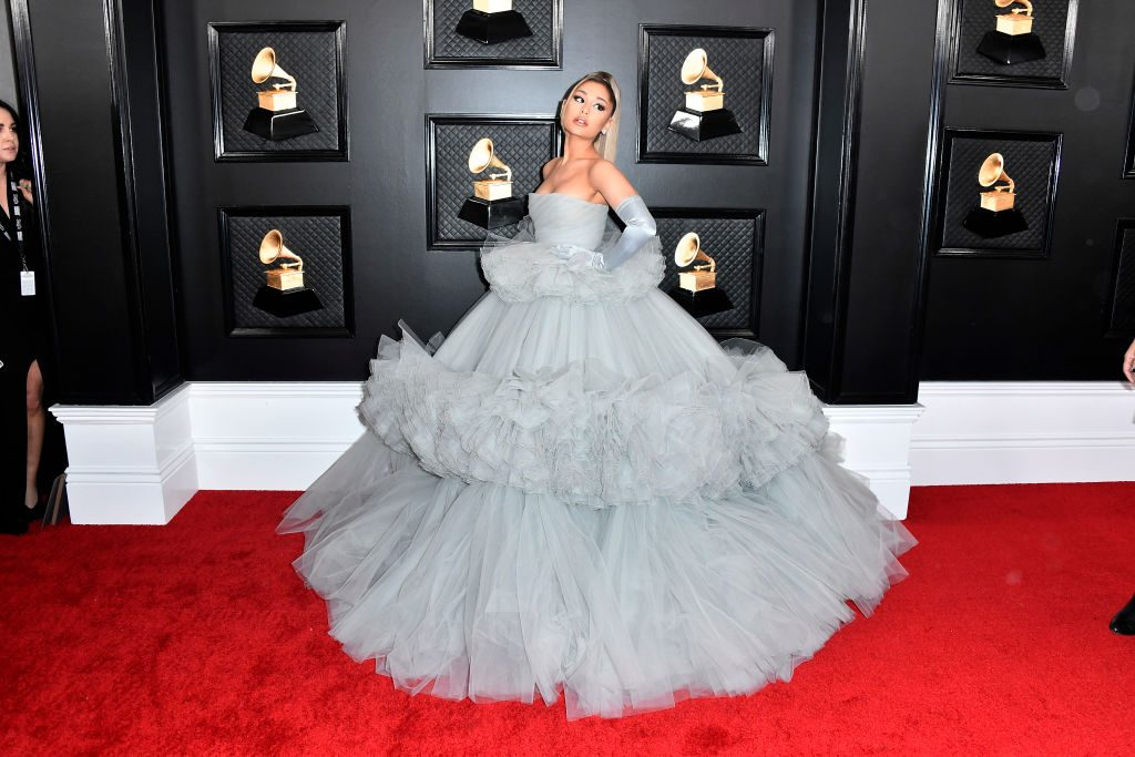 Ariana Grande attends the 62nd Annual GRAMMY Awards on January 26, 2020