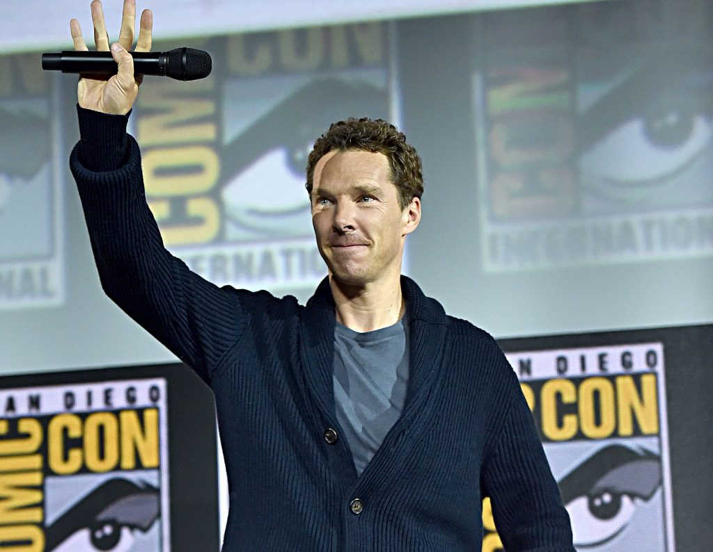 Benedict Cumberbatch of 'Doctor Strange in the Multiverse of Madness' at the SDCC 2019 Marvel Studios Panel in Hall H