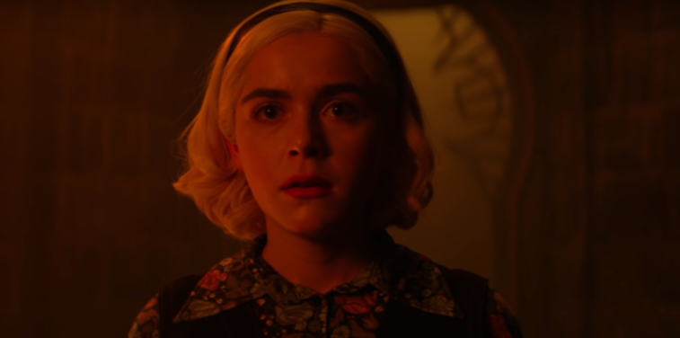 Scene from Netflix's 'Chilling Adventures of Sabrina'