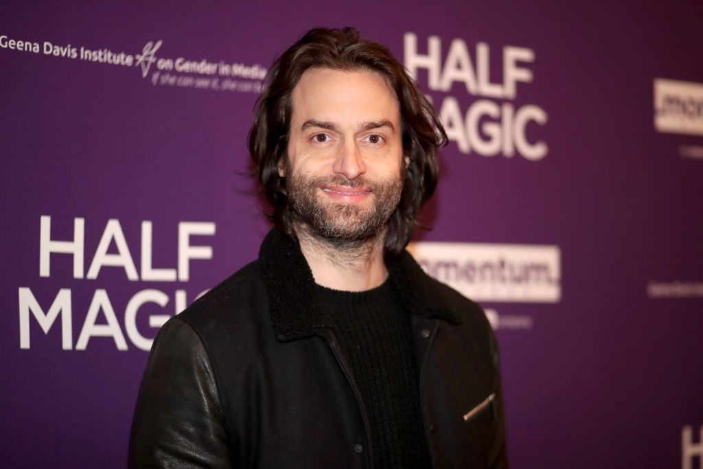"Chris D'Elia attends the premiere of Momentum Pictures' ""Half Magic"" at The London West Hollywood."