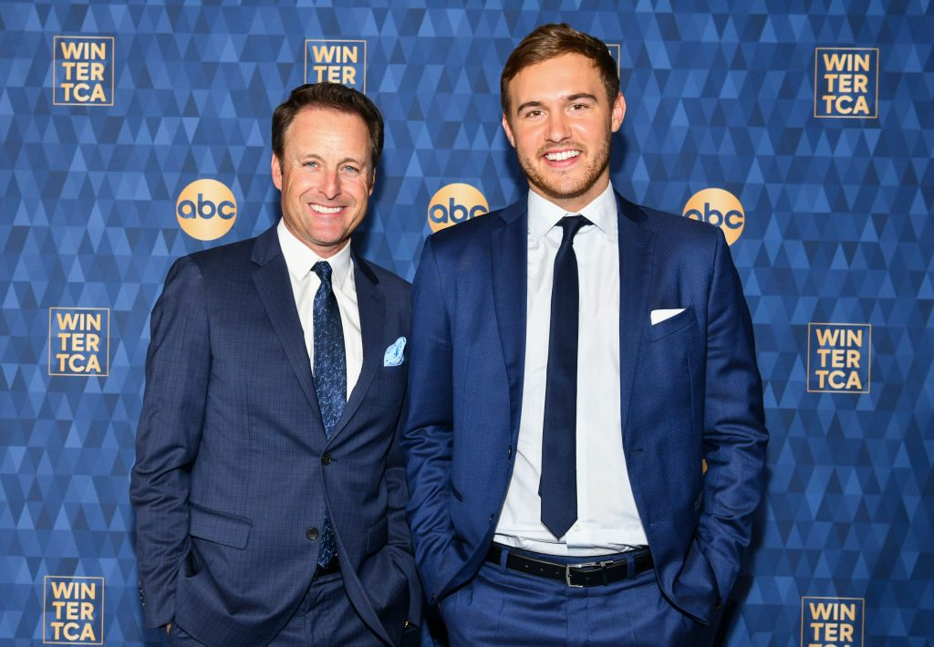Chris Harrison and Peter Weber of 'The Bachelor'
