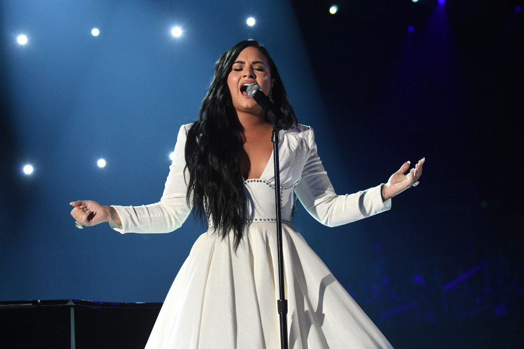 Demi Lovato performs during the 62nd Annual GRAMMY Awards on January 26, 2020