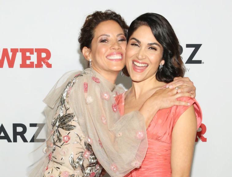 Elizabeth Rodriguez and Lela Loren of 'Power'