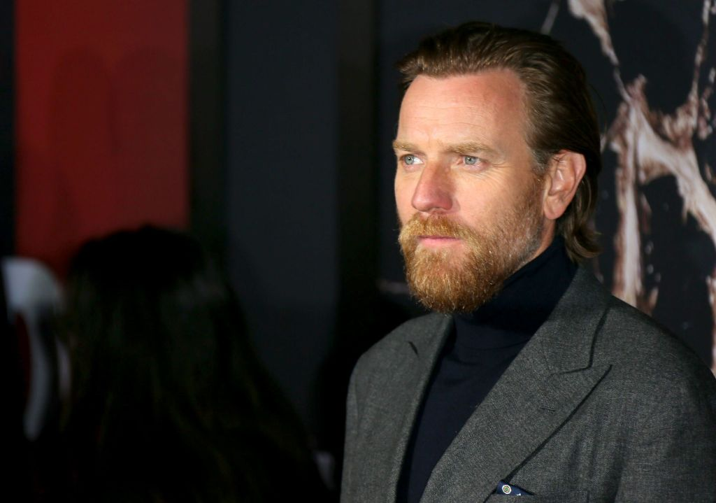 Ewan McGregor on the red carpet at the premiere of 'Doctor Sleep.'