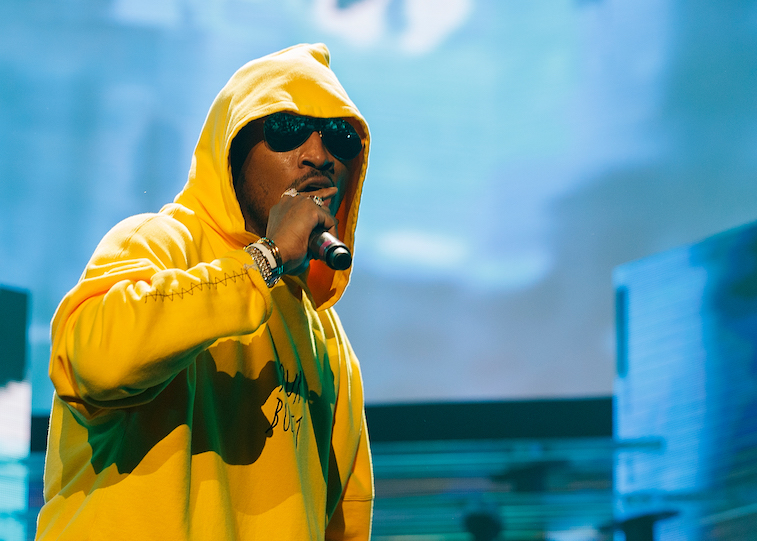 Future performs onstage