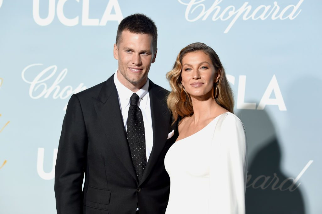 Tom Brady and Gisele Bündchen attends the 2019 Hollywood For Science Gala.