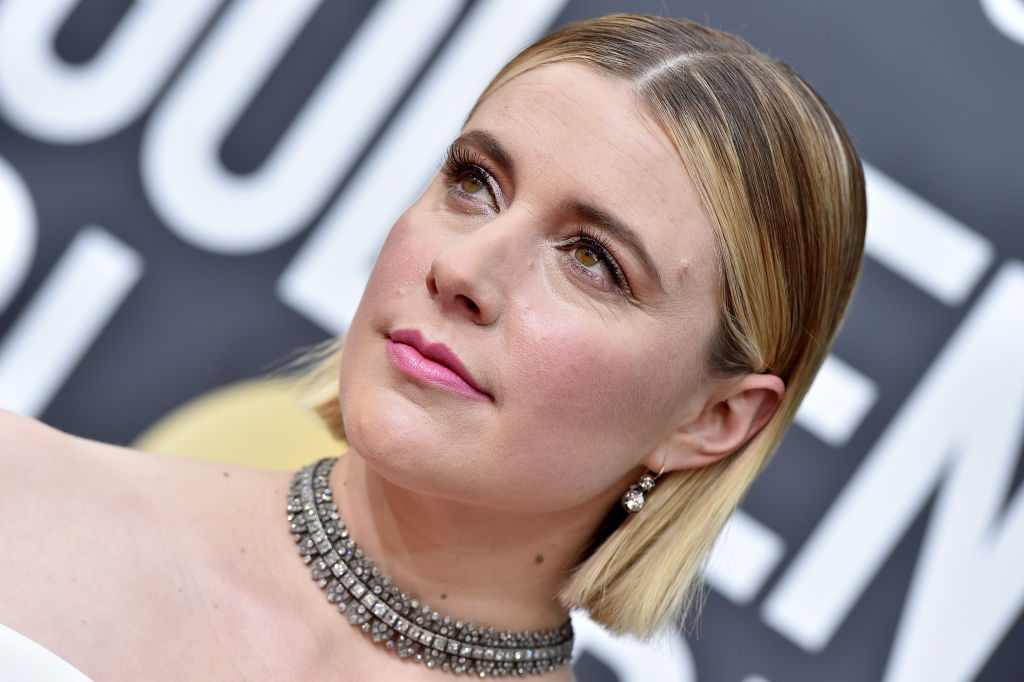 Greta Gerwig at the 77th Annual Golden Globe Awards on January 05, 2020