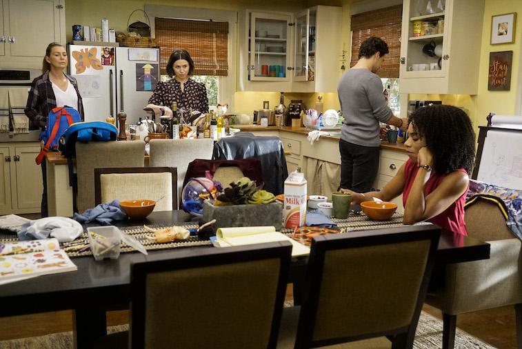 A kitchen scene from Grey's Anatomy