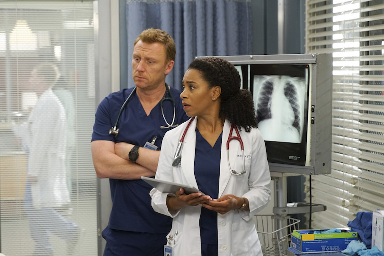 KEVIN MCKIDD, KELLY MCCREARY on Grey's Anatomy