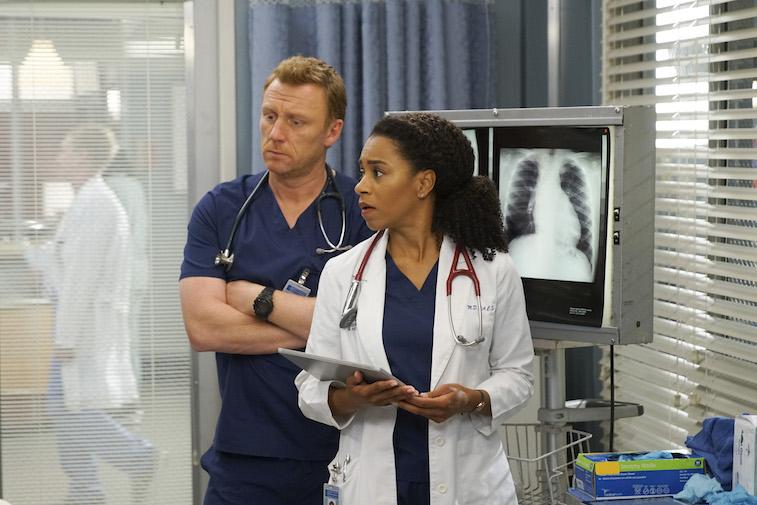 KEVIN MCKIDD, KELLY MCCREARY on Grey's Anatomy