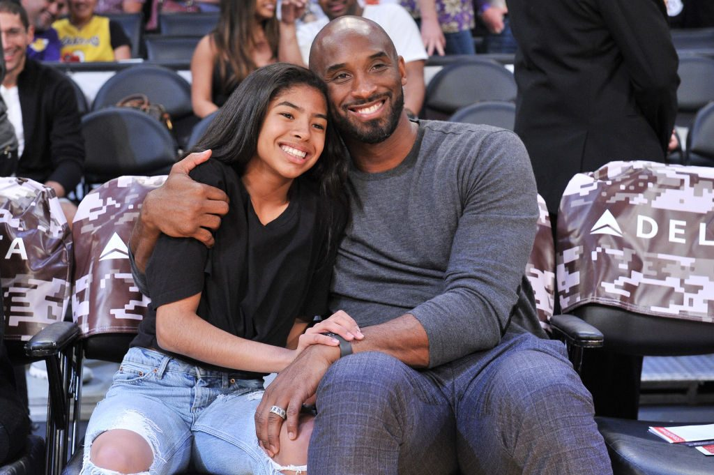 Kobe Bryant and daughter Gigi