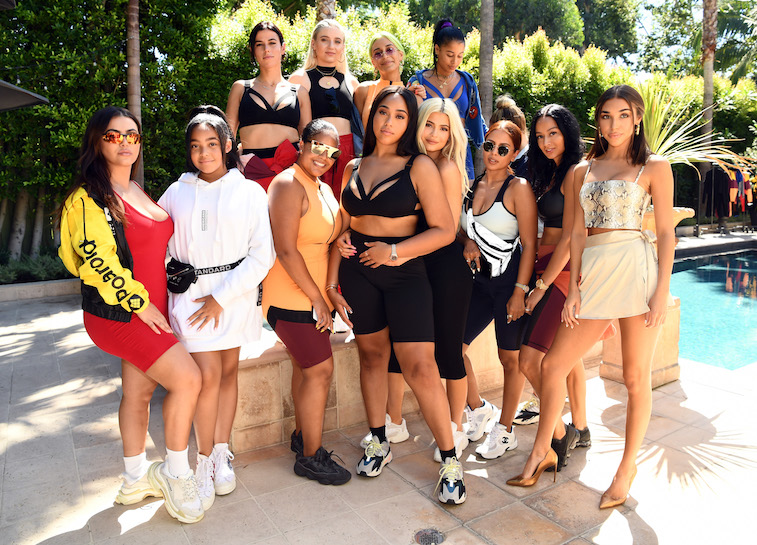 ictoria Villarroel, Kylie Jenner and friends at a launch party